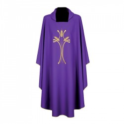Gothic Chasuble 7238 - Purple