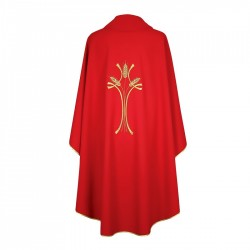 Gothic Chasuble 7239 - Red