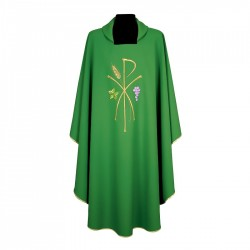 Gothic Chasuble 7241 - Green