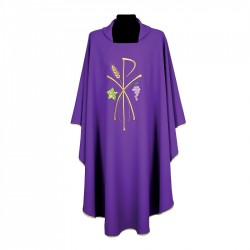 Gothic Chasuble 7242 - Purple