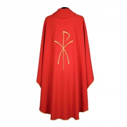 Gothic Chasuble 7243 - Red