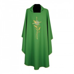 Gothic Chasuble 7245 - Green