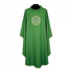 Gothic Chasuble 7254 - Green
