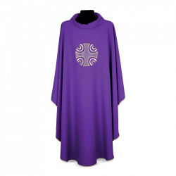 Gothic Chasuble 7256 - Purple