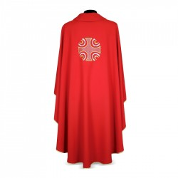 Gothic Chasuble 7257 - Red
