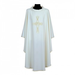 Gothic Chasuble 7260 - Cream