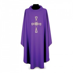 Gothic Chasuble 7262 - Purple