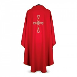Gothic Chasuble 7263 - Red