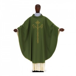 Gothic Chasuble 7267 - Green