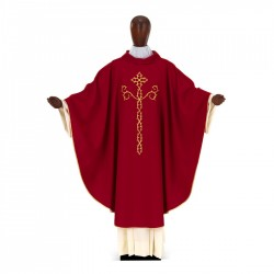 Gothic Chasuble 7269 - Red