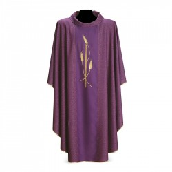 Gothic Chasuble 7273 - Purple