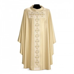 Gothic Chasuble 7275 - Cream