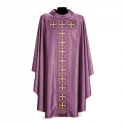Gothic Chasuble 7277 - Purple