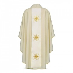 Gothic Chasuble 7283 - Cream