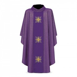 Gothic Chasuble 7285 - Purple