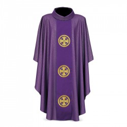 Gothic Chasuble 7290 - Purple