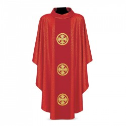 Gothic Chasuble 7291 - Red