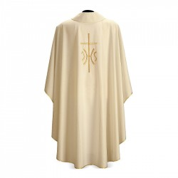 Gothic Chasuble 7296 - Cream