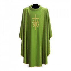Gothic Chasuble 7297 - Green