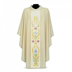 Gothic Chasuble 7300 - Cream