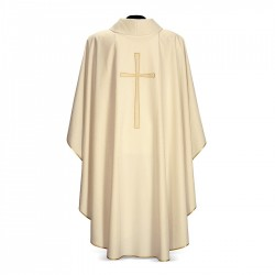Gothic Chasuble 7302 - Cream