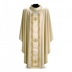 Gothic Chasuble 7311- Cream
