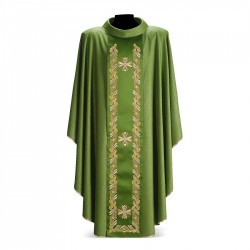 Gothic Chasuble 7313 - Green