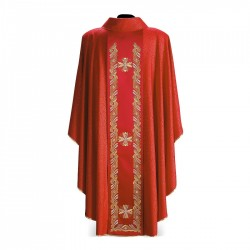 Gothic Chasuble 7315 - Red