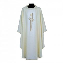 Gothic Chasuble 7321 - Cream