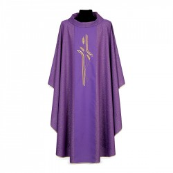 Gothic Chasuble 7323 - Purple