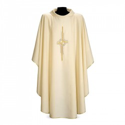 Gothic Chasuble 7325 - Cream