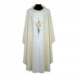 Gothic Chasuble 7329 - Cream