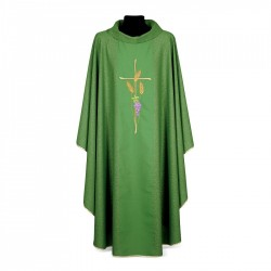 Gothic Chasuble 7330 - Green