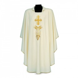 Gothic Chasuble 7337 - Cream