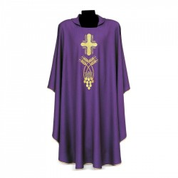 Gothic Chasuble 7339 - Purple