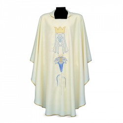 Gothic Chasuble 7341 - Cream