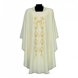 Gothic Chasuble 7342 - Cream