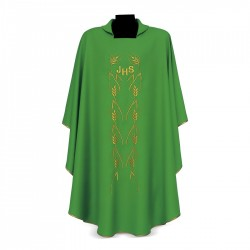 Gothic Chasuble 7343 - Green