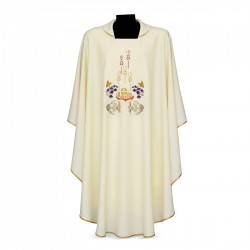 Gothic Chasuble 7347 - Cream