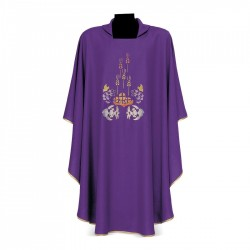 Gothic Chasuble 7348 - Purple