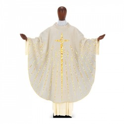 Gothic Chasuble 7359 - Cream