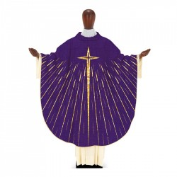 Gothic Chasuble 7361 - Purple