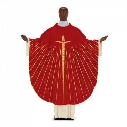 Gothic Chasuble 7362 - Red