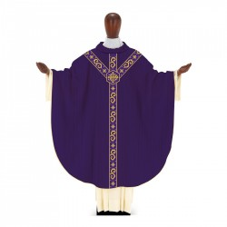 Gothic Chasuble 7365 - Purple
