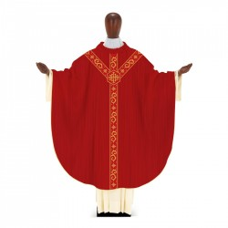 Gothic Chasuble 7366 - Red