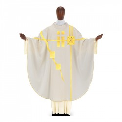 Gothic Chasuble 7367 - Cream