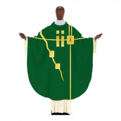 Gothic Chasuble 7368 - Green