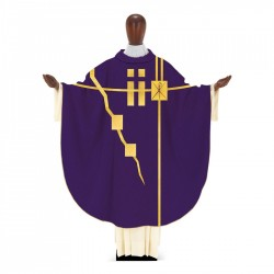 Gothic Chasuble 7369 - Purple