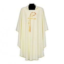 Gothic Chasuble 7371 - Cream