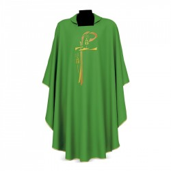 Gothic Chasuble 7372 - Green